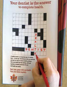 Crossword Puzzle Poster